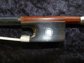 Czech 4/4 2009 Jan Dvorak Brazilwood Cello Bow
