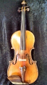 German 4/4 1890 Alfred Moritz Excelsior Violin for J. Bohmann