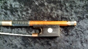 Chinese 4/4 2010 Copper Mounted Pernambuco Violin Bow