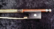 European 4/4 Paul Loudon Silver-Mounted Pernambuco Violin Bow