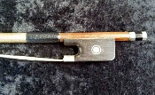 German Full Size 2004 Roderich Paesold Pernambuco Viola Bow