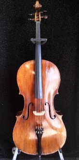 European 4/4 1800's Bergonzi Copy Cello