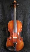 French 4/4 Collin Mezin Violin and German 4/4 Nickel Roth Bow